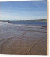 Lahinch Beach, West Of Ireland Wood Print