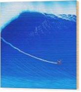 Jaws Cliff Angle 1-10-2004 Wood Print