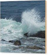 Lajolla Surf Wood Print