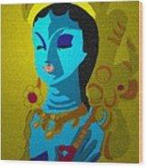Lakashimi Gold Wood Print