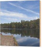 Lake 399 Wood Print