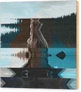 Lake And Beauty Ftg0002 Wood Print