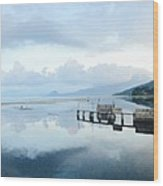 Lake Atitlan, Guatemala Wood Print