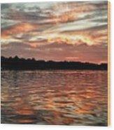 Lake Beulah Wood Print