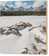 Lake Bierstadt Ver.2 Wood Print