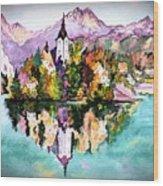 Lake Bled - Slovenia Wood Print