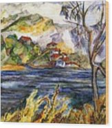 Lake Casitas IIi Wood Print