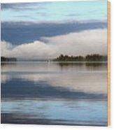Lake Cobb'see Wood Print by Dana Patterson