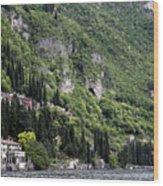 Lake Como 15 Wood Print