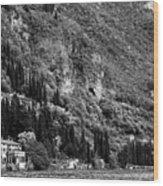 Lake Como 15b Wood Print