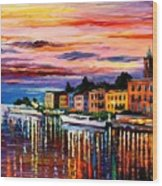 Lake Como - Bellagio  Wood Print