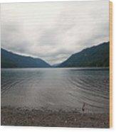 Lake Crescent Four Wood Print