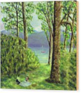 Lake Derwentwater - Lake District Wood Print