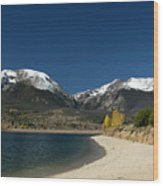 Lake Dillon Colorado Wood Print