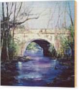 Lake District Bridge Wood Print