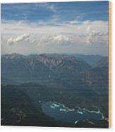 Lake Eibsee Wood Print