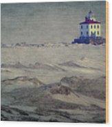 Lake Erie Lighthouse Wood Print