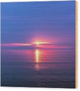 Lake Erie Sunrise Wood Print