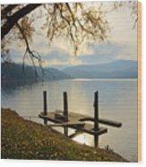 Lake Escape Wood Print