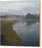 Lake Eufaula Wood Print