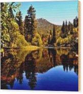 Lake Fulmor - Idyllwild, Ca Wood Print