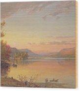 Lake George  Ny Wood Print