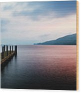 Lake George Sunrise 3 Wood Print
