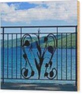 Lake Glimmerglass Wood Print