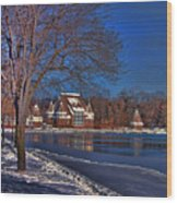 Lake Harriet Bandshell Wood Print