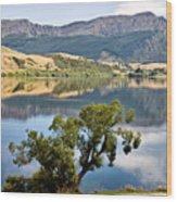 Lake Hayes New Zealand Wood Print