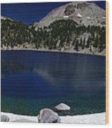 Lake Helen Lassen  Wood Print