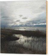 Lake Huron Wood Print