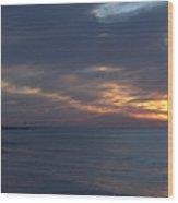 Lake Huron Sheen Wood Print