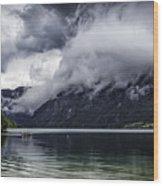 Lake In The Julian Alps Slovenia 1  Wood Print