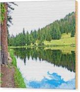 Lake Irene 12-3 Wood Print