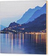 Lake Iseo - Italy Wood Print
