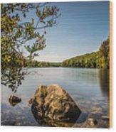 Lake Kanawauke Wood Print