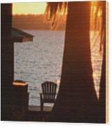 Lake Life Wood Print