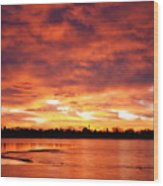 Lake Loveland Sunrise Wood Print