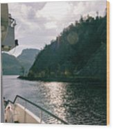 Lake Lucerne From A Boat  Wood Print
