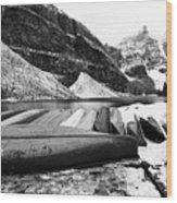 Lake Luise Wood Print
