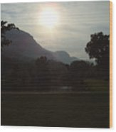 Lake Lure Wood Print
