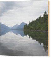 Lake Macdonald Reflection Wood Print