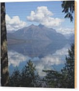 Lake Mcdonald Glacier National Park Wood Print