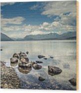 Lake Mcdonald - Glacier National Park Wood Print