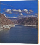 Lake Mead Wood Print