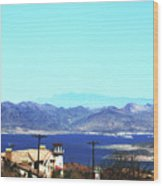 Lake Mead Las Vegas Wood Print