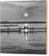 Lake Mendota In Madison Wood Print