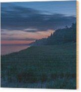 Lake Michigan Morning 1 Wood Print