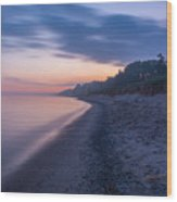 Lake Michigan Morning 2 Wood Print